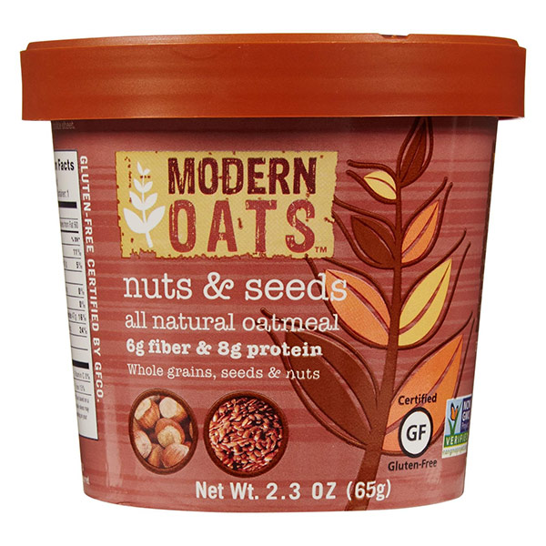 Nuts & Seeds Instant Oats From Modern Oats