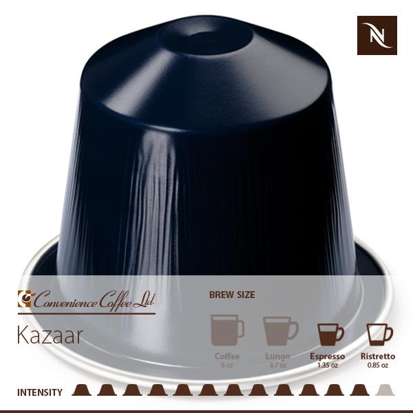 Ispirazione Palermo Khazzar Capsules From Nespresso