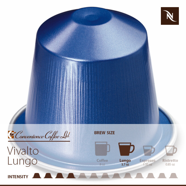 VIVALTO LUNGO Capsules From Nespresso