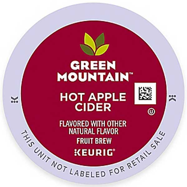 Hot Apple Cider From Green Mountain