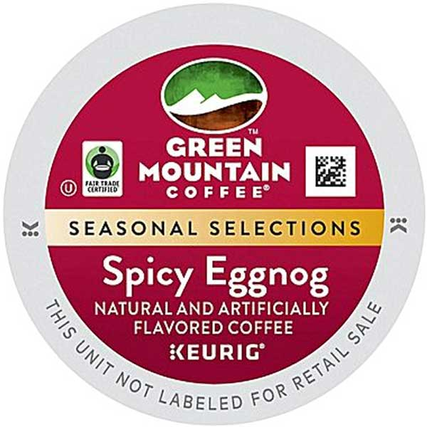 Spicy Eggnog Seasonal From Green Mountain