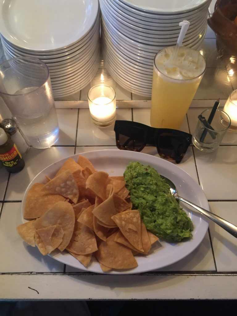transatlantic tables opentable connected tacombi NYC food guacamole
