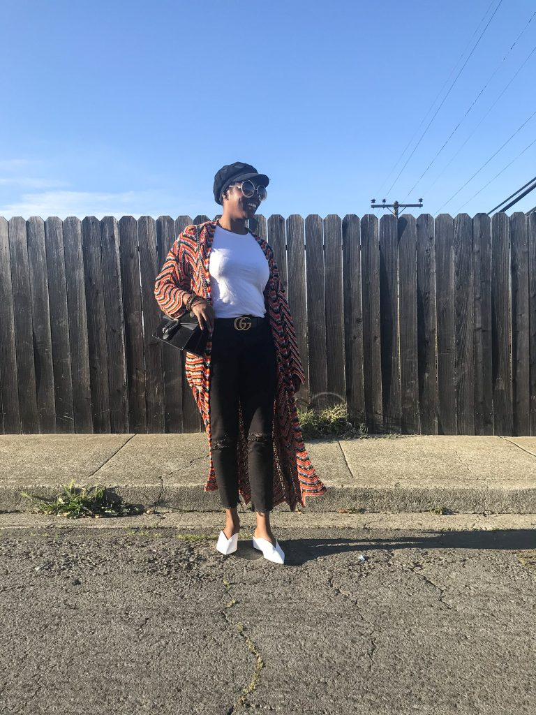 Zara multicolored cardigan Hanes T-shirt Levis wedgie fit skinny jeans white Zara mules black gucci double G logo belt gucci Dionysus black suede shoulder bag chloe sunglasses forever 21 black corduroy cabby hat sf San Francisco Bay Area fashion style blog blogger