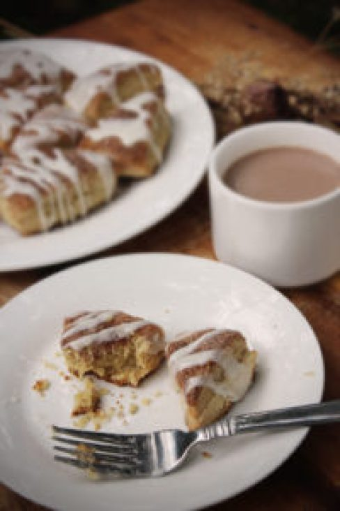Honey Cinnamon Scones