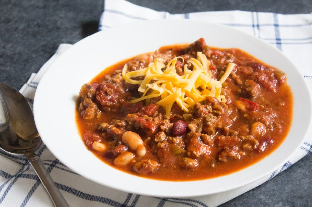 chili, classic chili, coco and ash chili, chili recipe, ground beef chili, ground turkey,