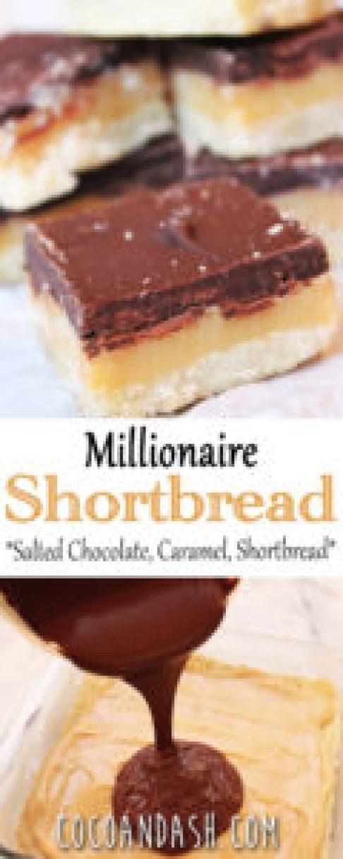 MILLIONAIRE SHORTBREAD BARS