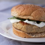 Parmesan Ranch Chicken Burger