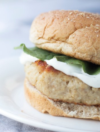 Parmesan Ranch Chicken Burger
