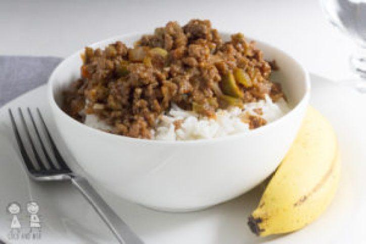 Cuban Picadillo dinner ground beef recipe spanish