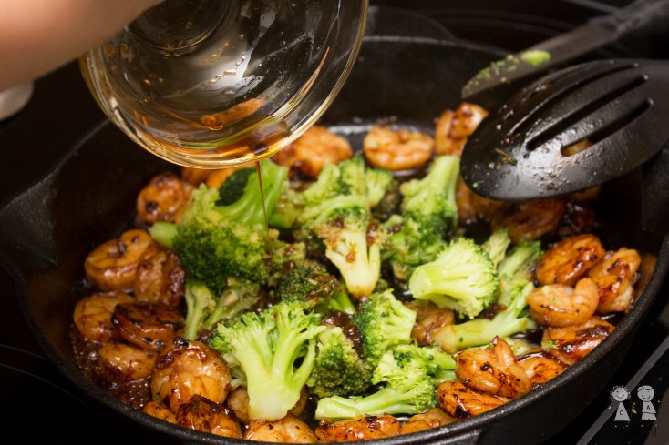 Honey Lime Shrimp and Broccoli, shrimp, dinner, broccoli, easy, recipe, garlic, soy