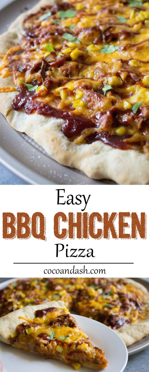 oxo, BBQ chicken pizza, bbq, barbecue, chicken, dinner, easy, recipe, pizza,