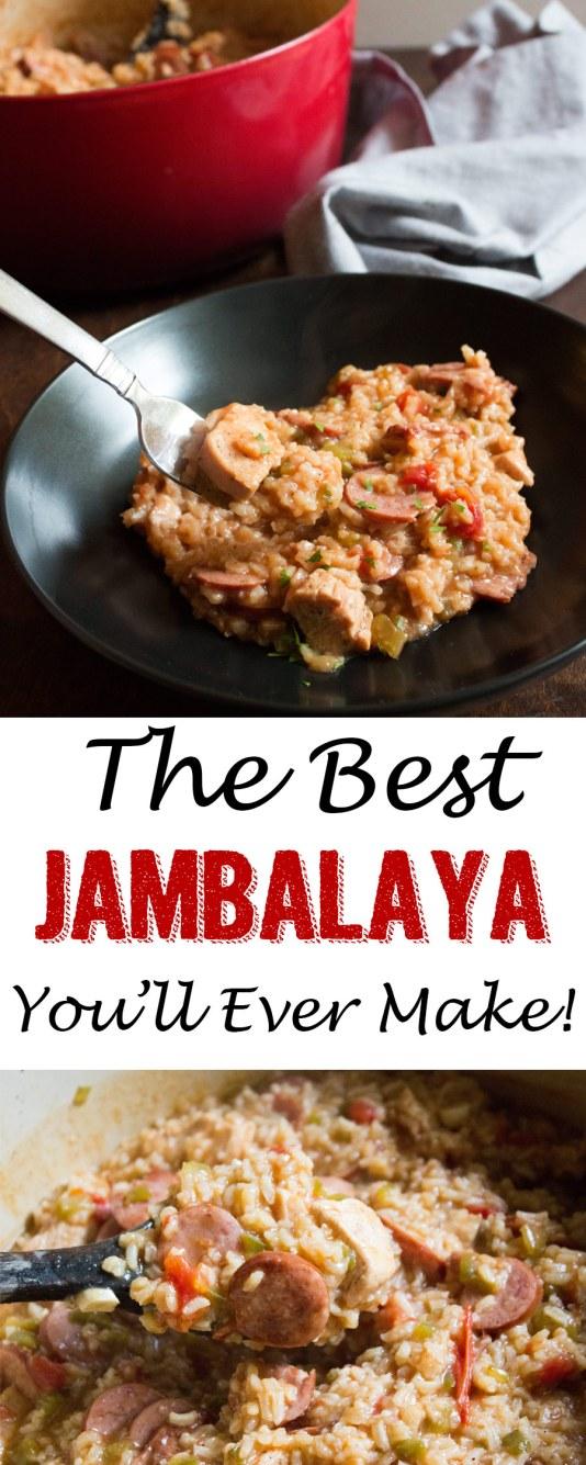 jambalaya, coco and ash, cajun, creole, sausage, chicken, dinner, main course, entrees, jambalaya,