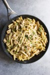 Creamy Chicken and Pesto Pasta, Creamy chicken, Pesto pasta, easy recipe, chicken recipe, parmesan