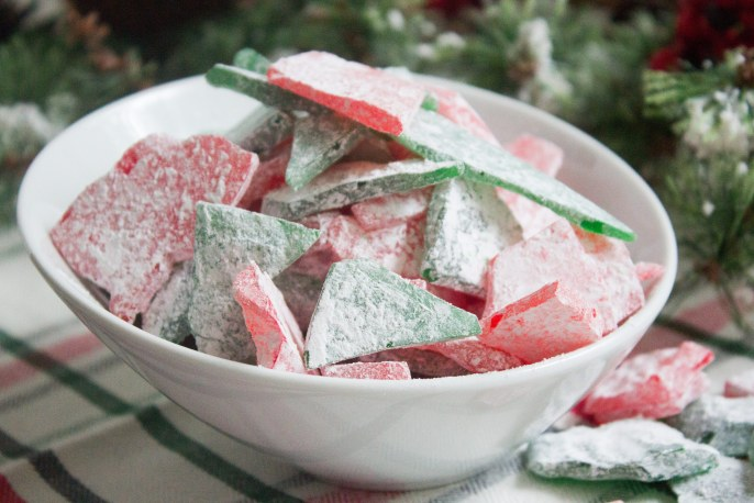 Stained glass candy, stained glass christmas candy, stained glass, cinnamon candy, spearmint candy, christmas candy, hard candy, christmas hard candy