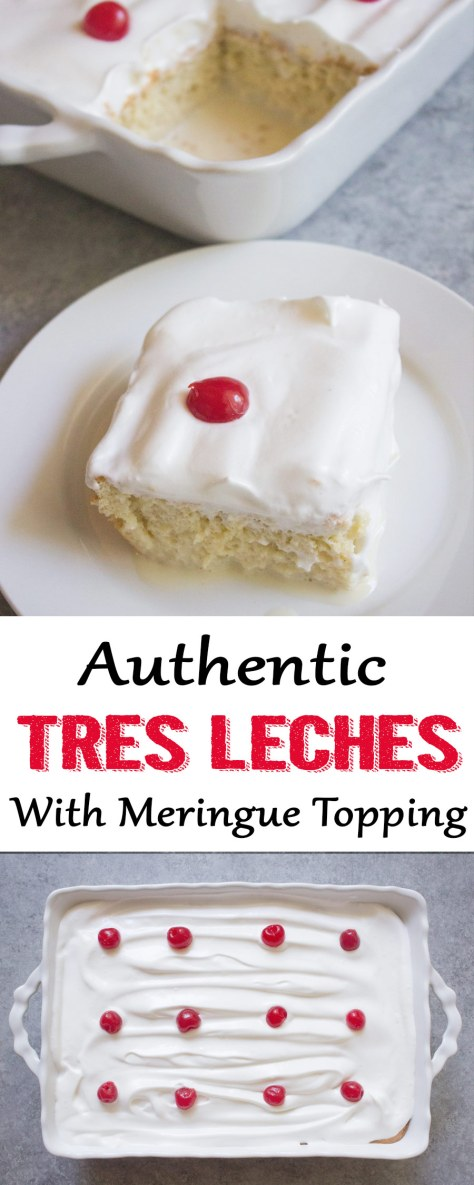 tres leches, tres leches cake, authentic tres leches, cuban tres leches, cuban dessert, milk, cake, coco and ash, tres leches with meringue