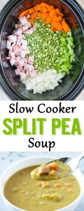 slow cooker split pea soup, Split Pea Soup, slow cooker soup, split pea