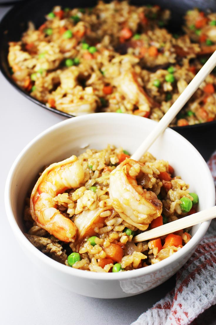 Easy Shrimp Fried Rice Coco And Ash