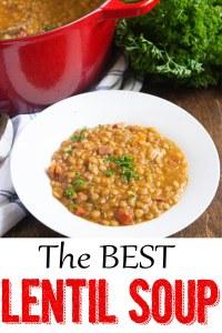 lentil soup with ham, lentil soup, coco and ash, soup