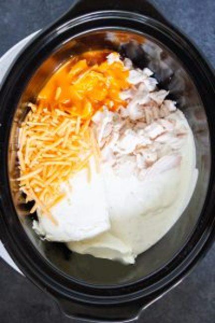 Buffalo Chicken Dip, crock pot buffalo chicken dip, slow cooker, appetizer