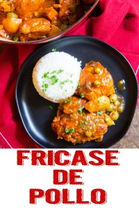 chicken fricassee, fricase de pollo, cuban chicken fricassee, cuban recipe, cuban food, coco and ash