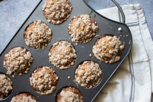 banana bread muffins, banana muffins, muffins, coco and ash, easy banana muffins