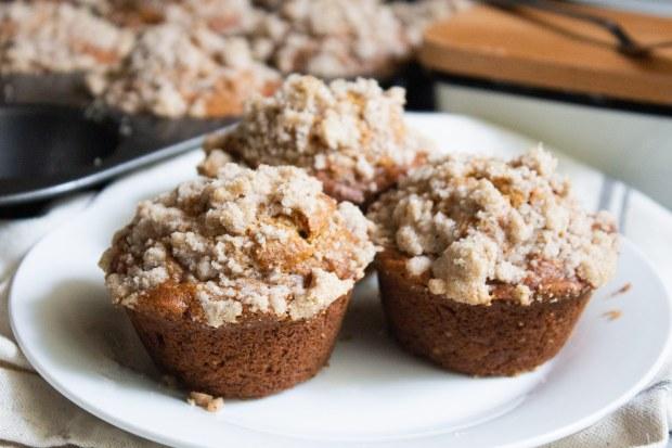 banana bread muffins, banana muffins, muffins, coco and ash, easy banana muffins