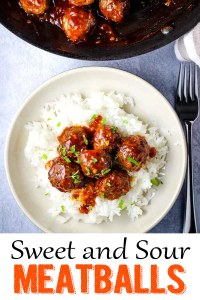 Sweet and Sour Meatballs 1