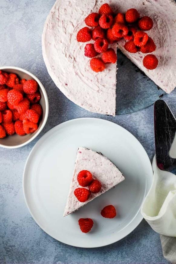 no bake raspberry cheesecake, easy cheesecake, dessert, no bake cheesecake, raspberry cheesecake, coco and ash