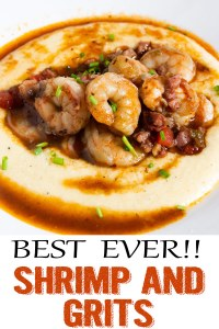 cheesy southern shrimp and grits, cheese grits, shrimp and grits, southern shrimp and grits, coco and ash