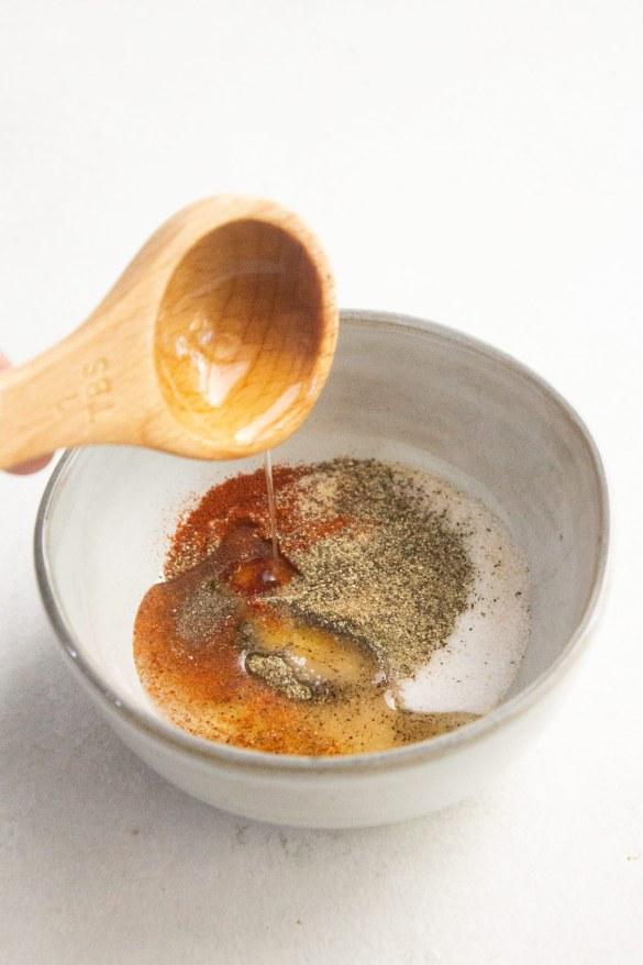 Seasonings for roasted chicken legs