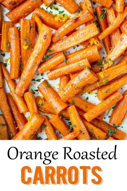 Orange Roasted Carrots