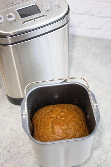 Pumpkin bread machine recipe