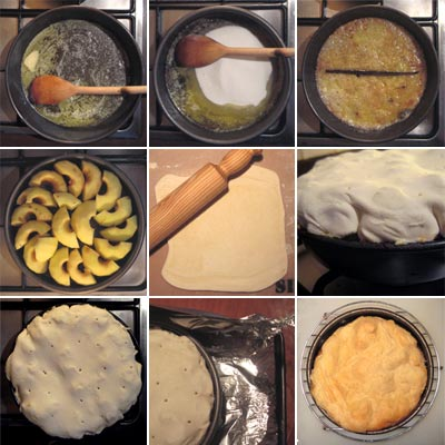sample of how the recipe is described in thumbnail format