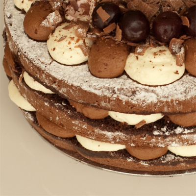 Coco&Me - Black Forest Gateaux with recipe - www.cocoandme.com - Coco and Me