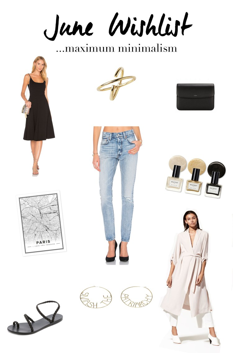 June 2017 shopping wishlist compiled by Winnipeg style blogger Cee Fardoe of Coco & Vera
