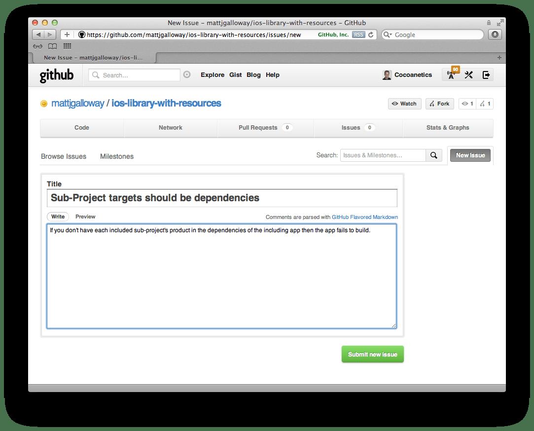 GitHub Fork, Fix, Pull Request | Cocoanetics