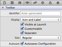 Enable Autosave on Toolbar