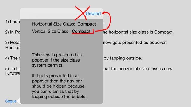 Size Class Error