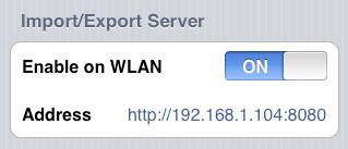 Import Server