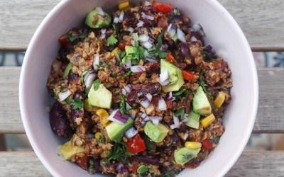 Chili sin carne vegano