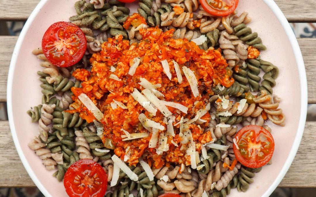 Boloñesa vegetariana