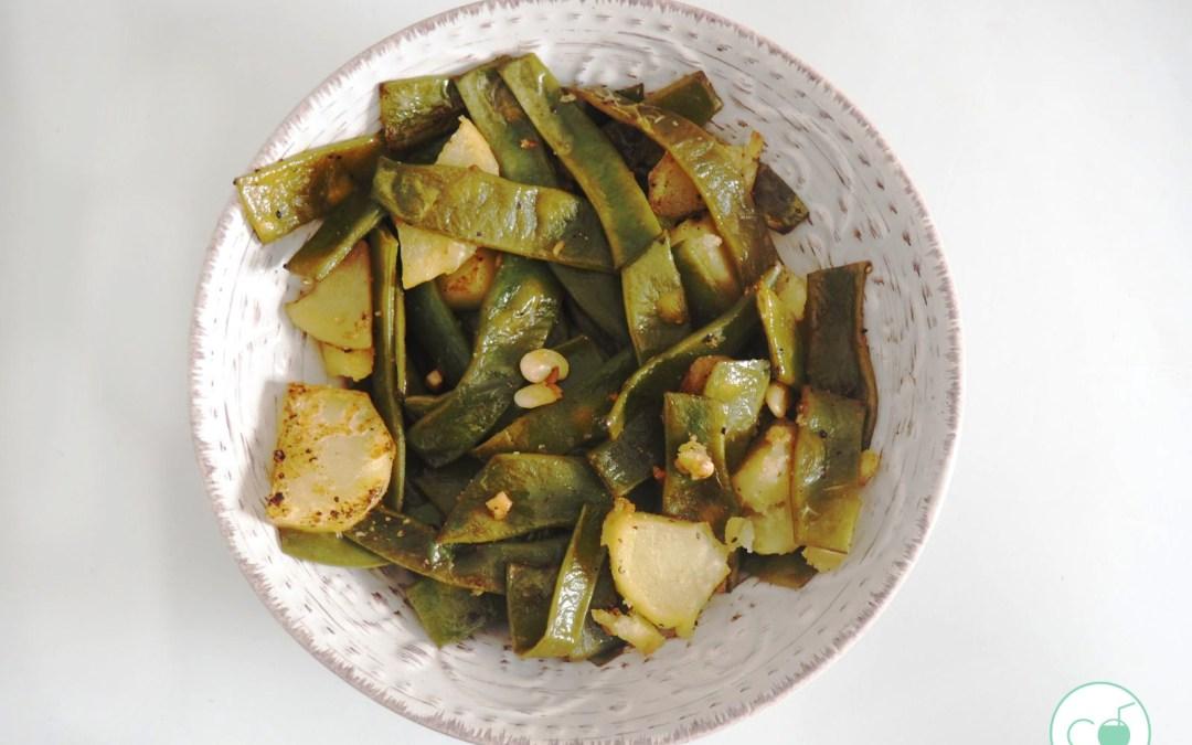 Judías verdes que sí están buenas. Versión vegana y vegetariana