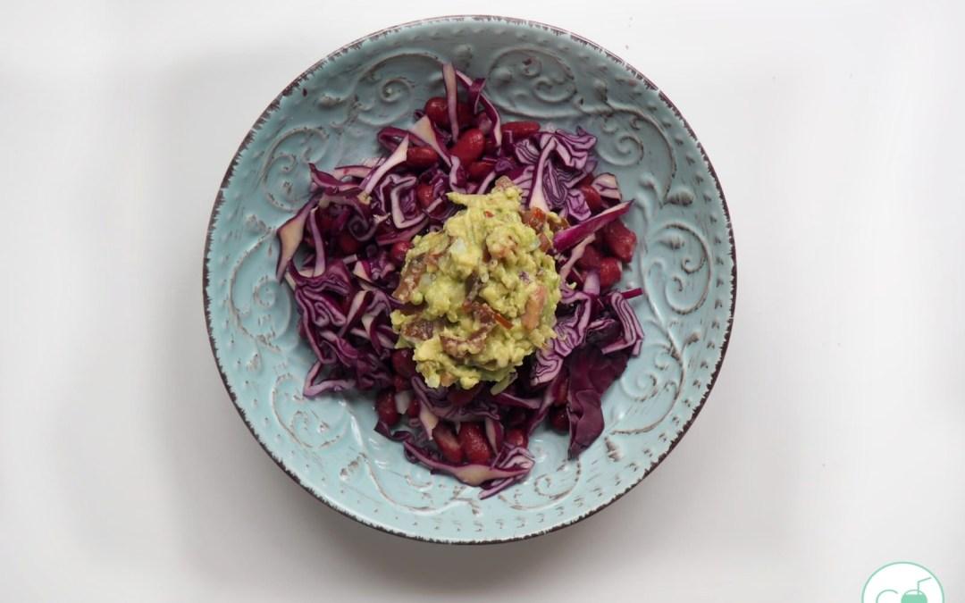 Ensalada mexicana vegana que nunca comerían en Mexico