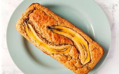 'Banana Bread' saludable