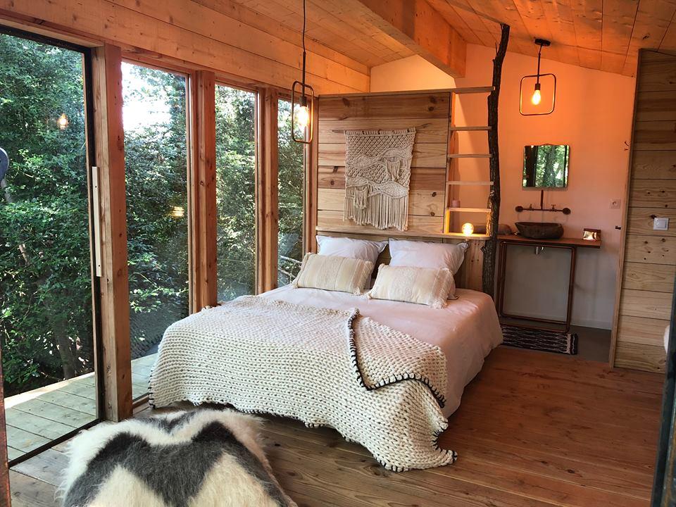 La Cabane Sur Leau Cocobarn Wood Lodge