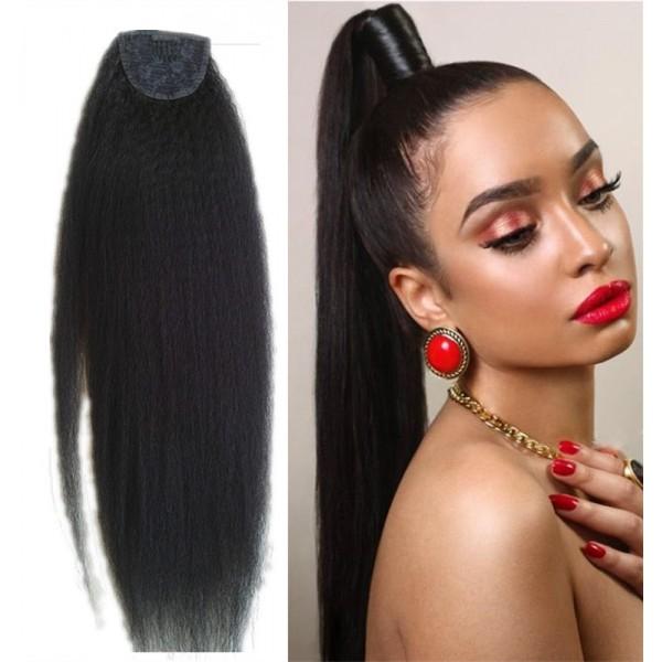 100 Virgin Human Hair Ponytail Human Hair Drawstring