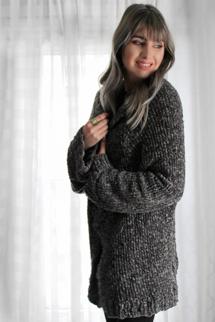 Easy vel-lux cardigan free knitting pattern CoCo Crochet Lee