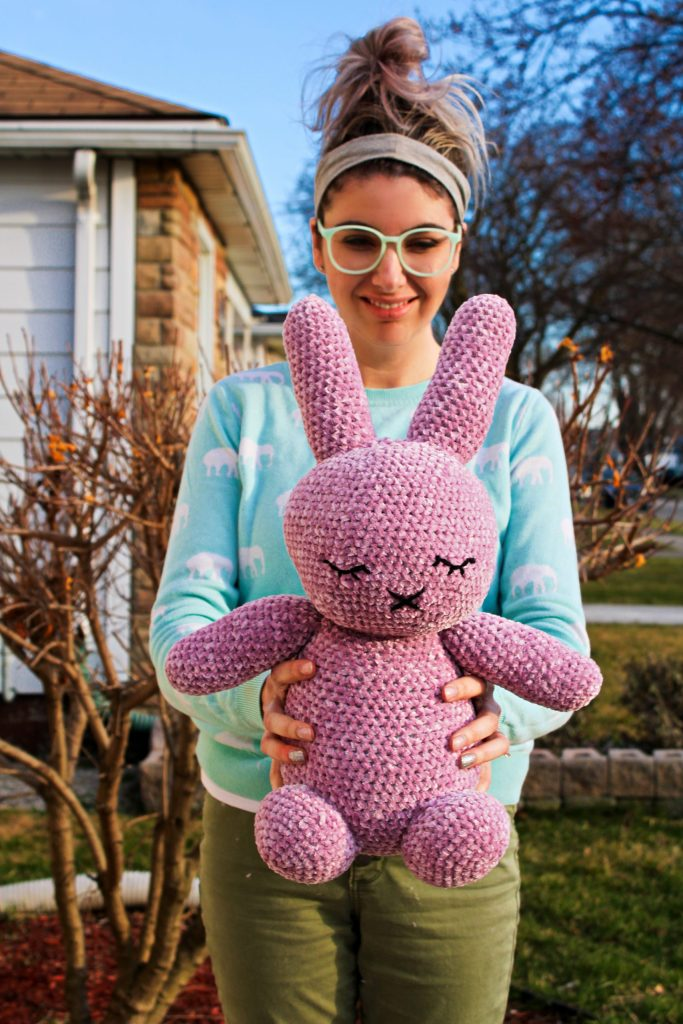 Sleepy Mallow Bunny CoCo Crochet Lee free crochet pattern