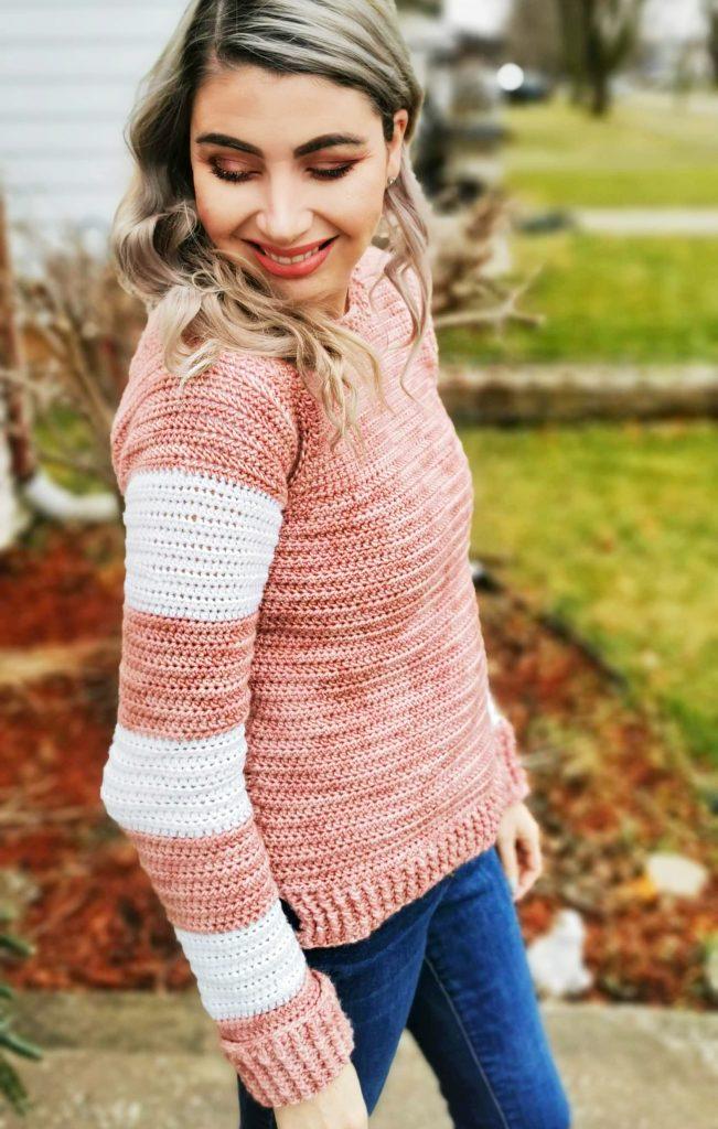 Seventeenth Sweater - free crochet pattern - CoCo Crochet Lee