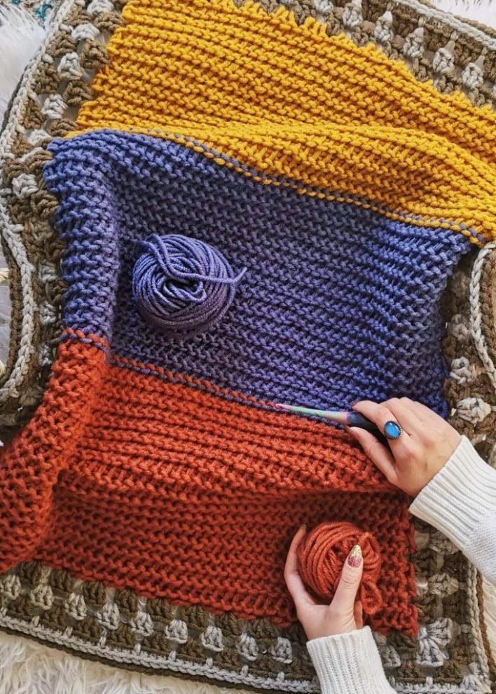 Huckleberry Baby Blanket - free crochet pattern - coco crochet lee - lion brand yarn